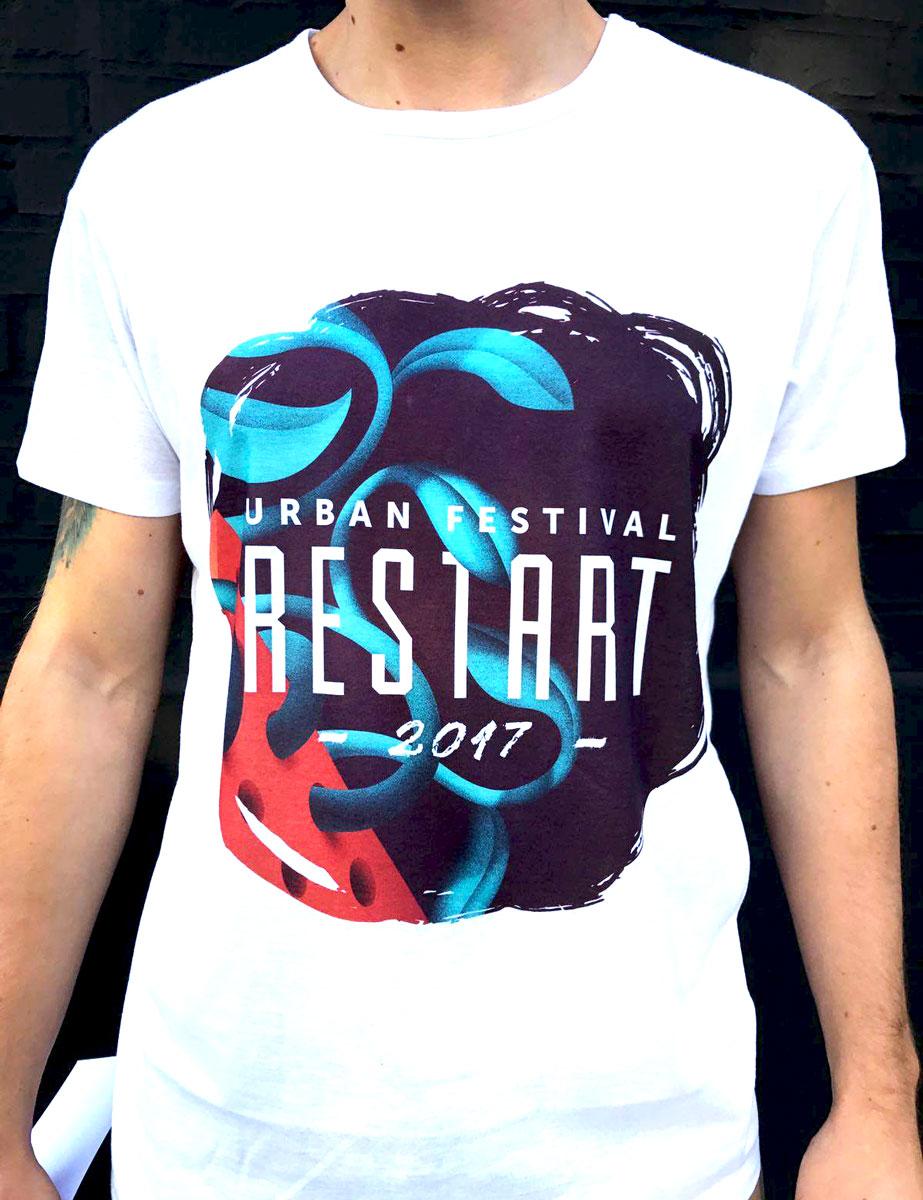 restart 2017 t-shirt